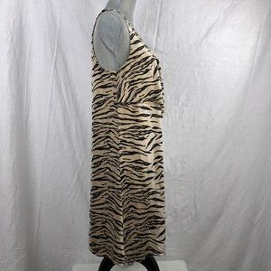 Anne Klein 2 Dresses - Anne Klein 2 sleeveless animal print dress